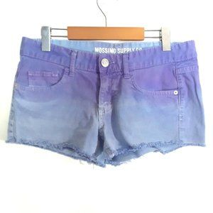 Mossimo Supply Co Purple Shorts Size 11